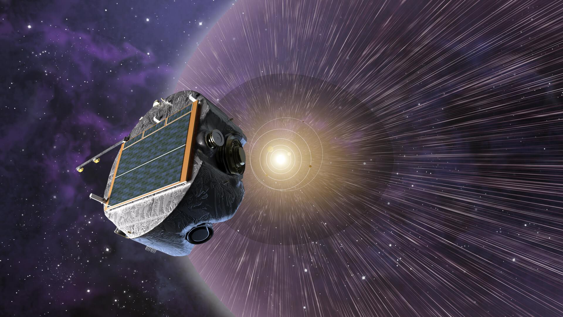 IMAP spacecraft observing the solar wind at the edge of the heliosphere