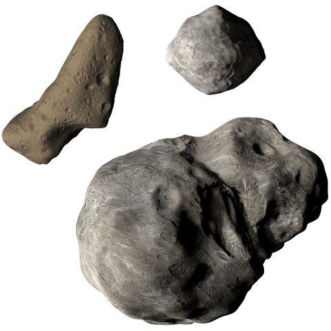 Graphic of Asteroids