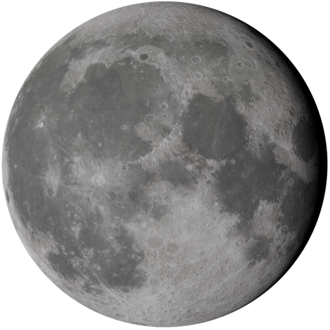 Graphic of Moon