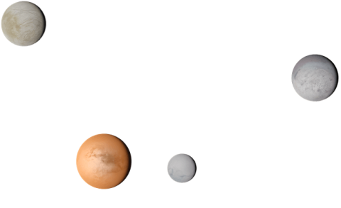 Graphic of Outer Moons