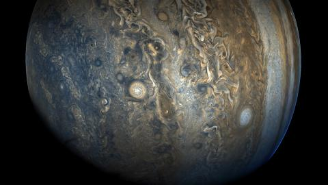 Featured photo for Johns Hopkins APL Scientists Help Solve the 40‑Year Mystery of Jupiter's X-ray Aurora